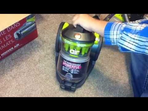 hoover-air-bagless-canister-unboxing-and-test-run-hoover